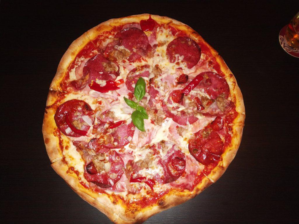 Pizza na přání od kuchaře Standy z restaurace Fontána