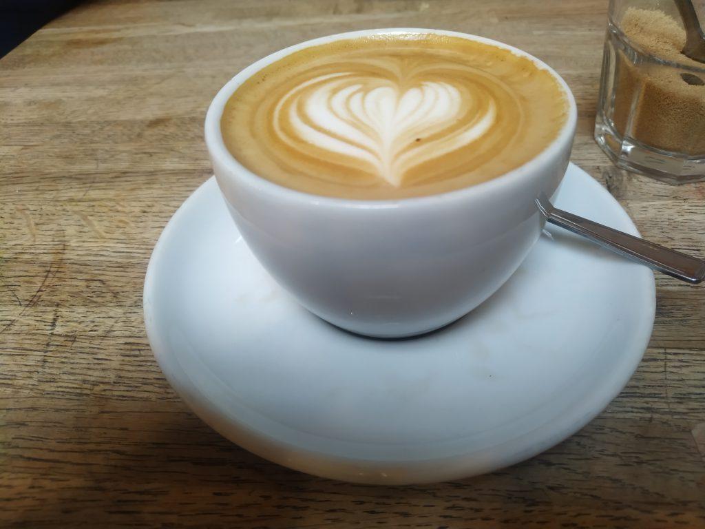 Flat White - Latte art