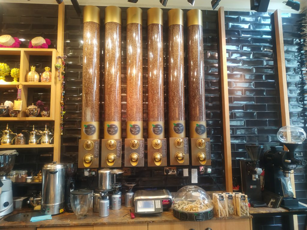 Dózy s kávou